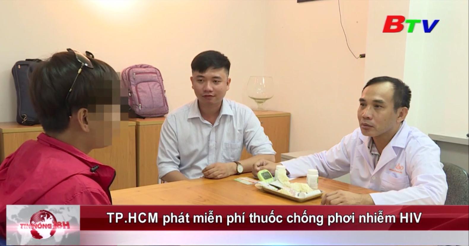 TP.HCM phát miễn phí thuốc chống phơi nhiễm HIV