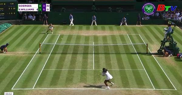 Serena Williams vào chung kết Giải Wimbledon 2018