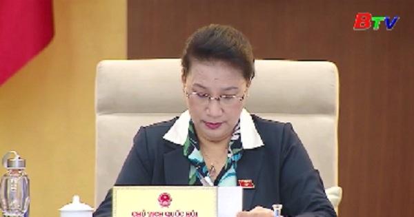 Ủy ban thường vụ quốc hội khai mạc phiên họp thứ 36