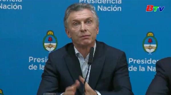 Tổng thống Argentina cam kết ổn định kinh tế sau thất bại trong bầu cử