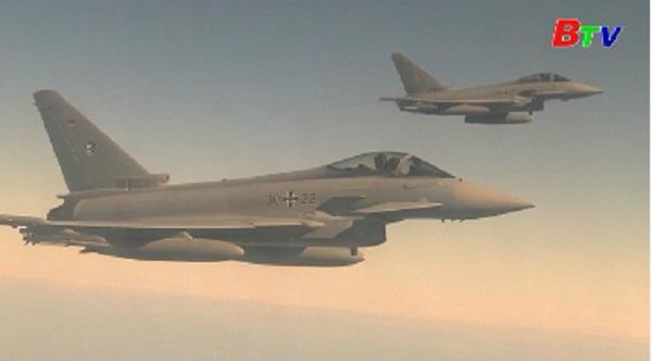 NATO tập trận đánh chặn trên không