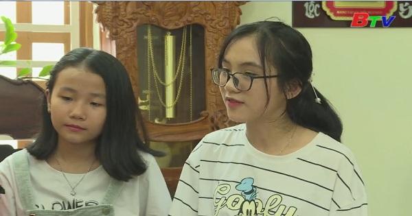 Giao lưu đội văn nghệ Trường THCS Phú Hòa
