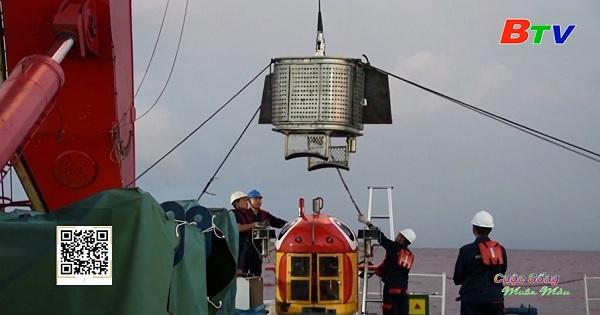 Tàu lặn không người lái của Trung Quốc lập kỷ lục về lặn sâu