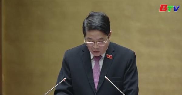 Quốc hội thông qua Nghị quyết về dự toán ngân sách Nhà nước