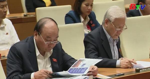 Quốc hội biểu quyết thông qua Nghị quyết phê chuẩn Hiệp định đối tác toàn diện và tiến bộ xuyên Thái Bình Dương CPTPP