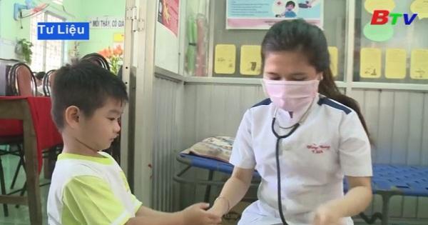 Tiêm bổ sung Vắc xin Sởi - Rubella cho trẻ 1 - 5 tuổi