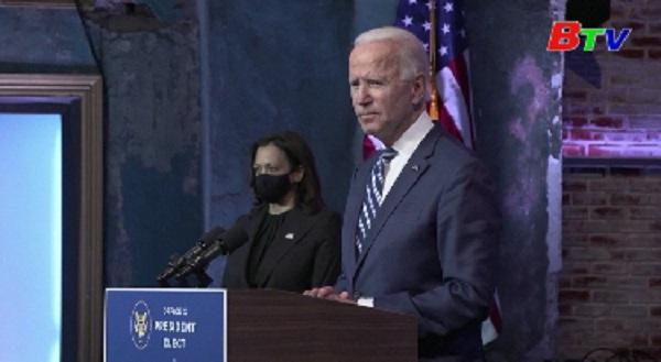 Ông J.Biden thông báo vị trí Chánh văn phòng Nhà Trắng