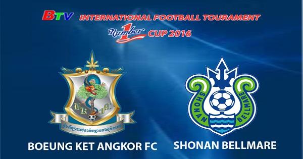 Trận bán kết: Boeung Ket Angkor  vs Shonan Bellmare
