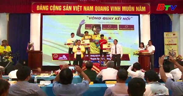 Bế mạc Giải xe đạp truyền hình Bình Dương Cúp Ông nhựa Hoa Sen 2017