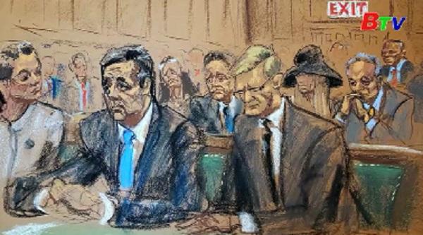 Cựu luật sư riêng của Tổng thống Mỹ lĩnh án 3 năm tù