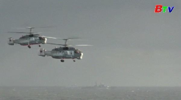 Tàu sân bay Đô đốc Kuznetsov của Nga bốc cháy