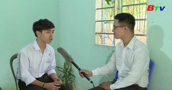 Thắp sáng ước mơ xanh - Em Phạm Tiến Dương, lớp 12A1, trường THPT Nguyễn Huệ, huyện Phú Giáo, Bình Dương