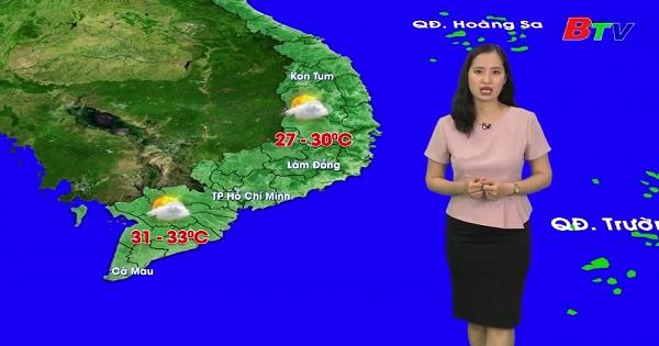 Bản tin Thời tiết (Ngày 13/01/2020)