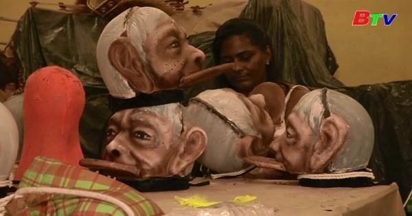 Carnival Rio De Janeiro - Một trường Samba gây chú ý với củ để tôn vinh văn hóa thổ dân