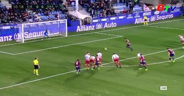 Vòng 22 La Liga-Eibar 4-0 Granada