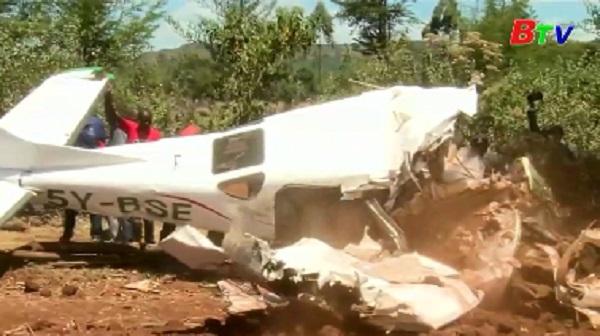 Rơi máy bay ở Kenya, 5 người thiệt mạng
