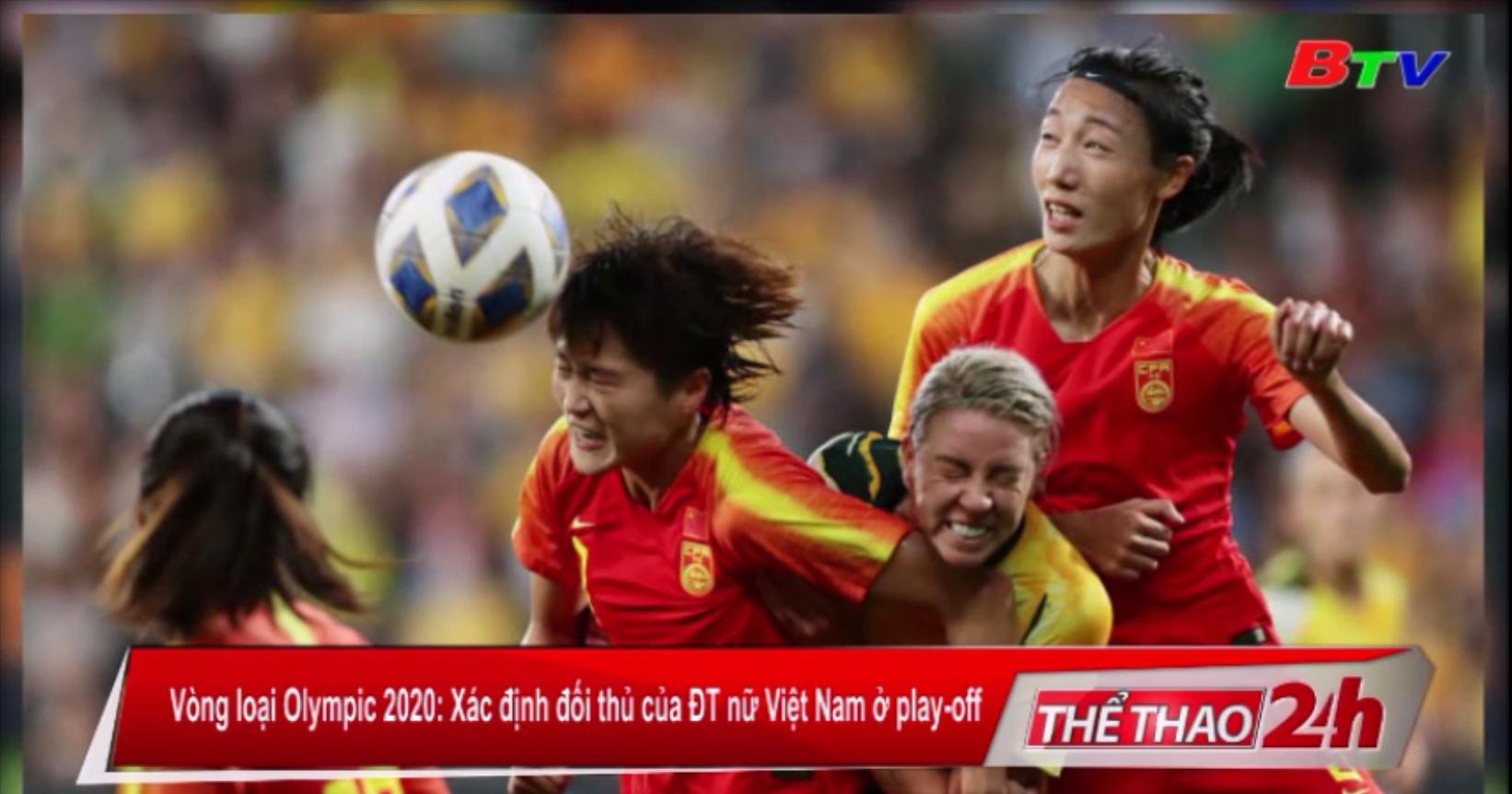 Vòng loại Olympic Tokyo 2020 - Xác định đối thủ của ĐT nữ Việt Nam ở play-off