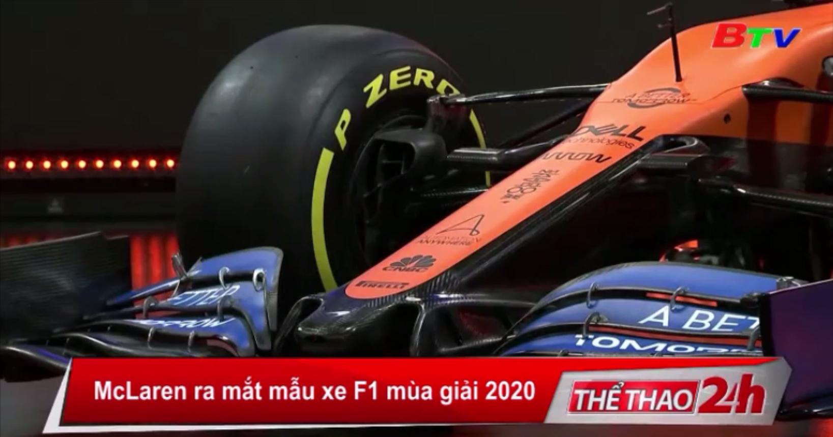 McLaren ra mắt mẫu xe F1 mùa giải 2020