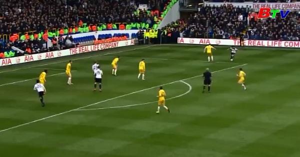 Vòng tứ kết Cúp FA - Tottenham Hotspur 6-0 Millwall