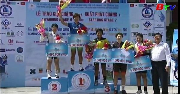 Chặng 7 Giải đua xe đạp nữ quốc tế Biwase năm 2017