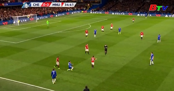 Kết quả tứ kết Cúp FA - Chelsea 1-0 Manchester United