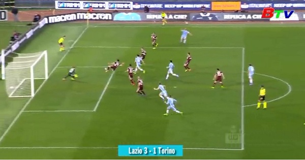 Vòng 28 Serie A- Lazio 3-1 Torino