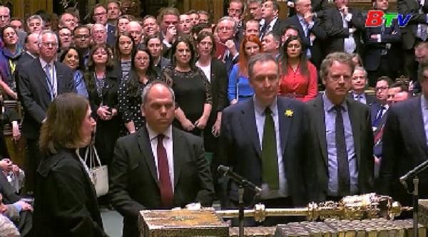 Quốc hội Anh bỏ phiếu phản đối Brexit không thỏa thuận