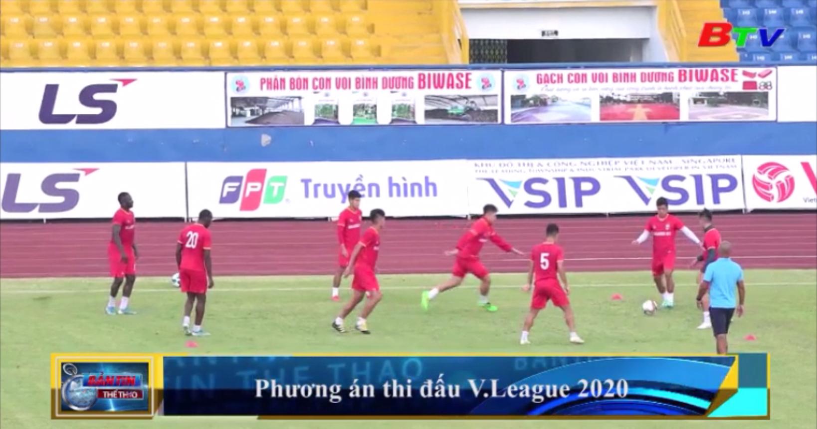 Phương án thi đấu V-League 2020