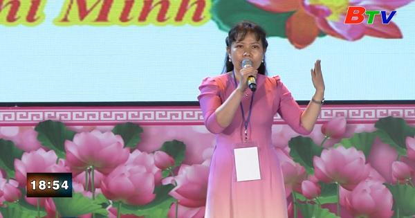 Thí sinh Nguyễn Thị Ngọc - Đơn vị Thành Ủy Dĩ An