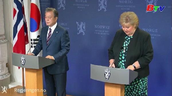 Hàn Quốc và Na Uy đẩy mạnh hợp tác đa lĩnh vực
