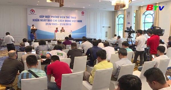 VFF và VPF gặp gỡ phóng viên thể thao nhân Ngày Báo Chí Cách Mạng Việt Nam