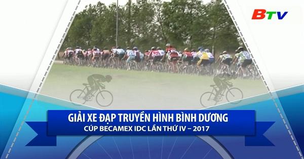 Chặng 3 Giải Đua xe đạp Truyền hình Bình Dương Cúp Becamex IDC  lần IV/2017