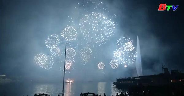 Rực rỡ lễ hội pháo hoa Geneva