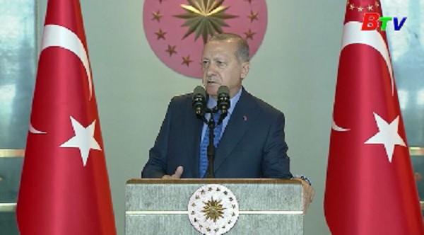 Tổng thống Thổ Nhĩ Kỳ Erdogan cam kết sớm ổn định tình hình