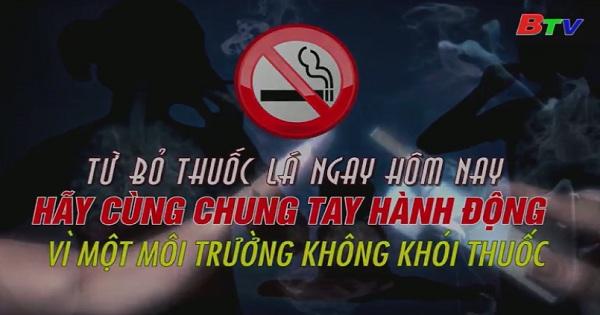 Chung tay vì một môi trường không thuốc lá