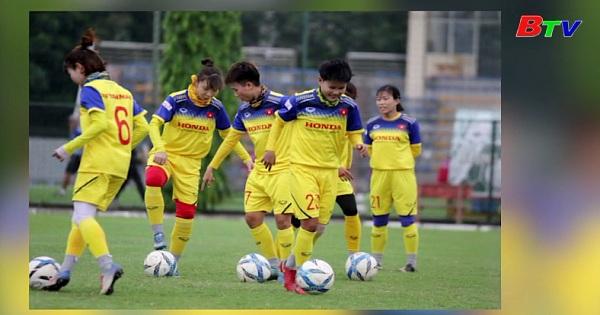 Chốt danh sách đội tuyển nữ Việt Nam tham dự Giải vô địch Đông Nam Á 2019