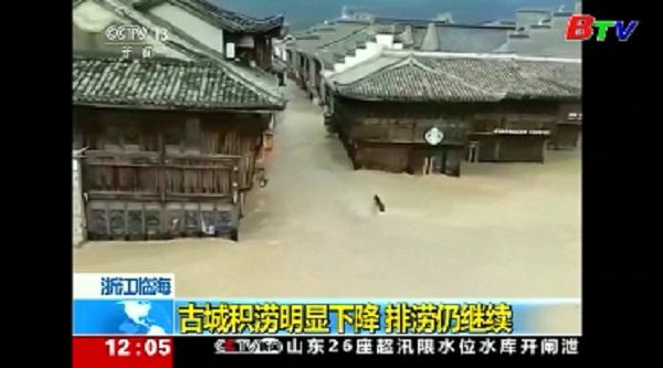 Trung Quốc - Số người thiệt mạng do bão Lekima tiếp tục tăng