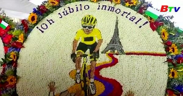 Lễ hội hoa hàng năm ở thành phố Medellin