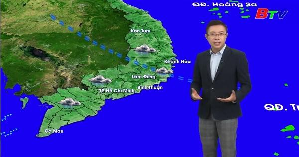 Bản tin thời tiết (Ngày 13/9/2019)