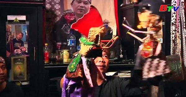 Tái sinh nghệ thuật múa rối tre Indonesia