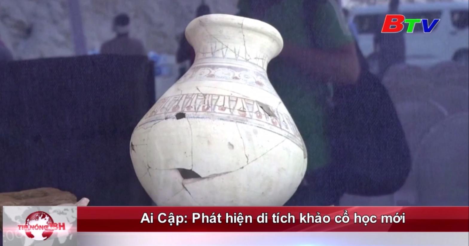 Ai Cập: Phát hiện di tích khảo cổ học mới
