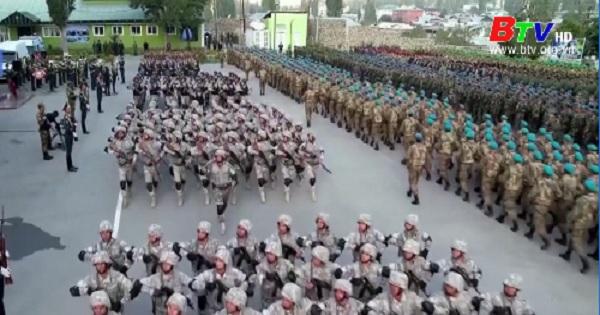 CSTO tập trận gần biên giới Afghanistan