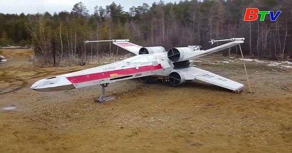 Tàu chiến X-Wing được tái hiện ở Nga