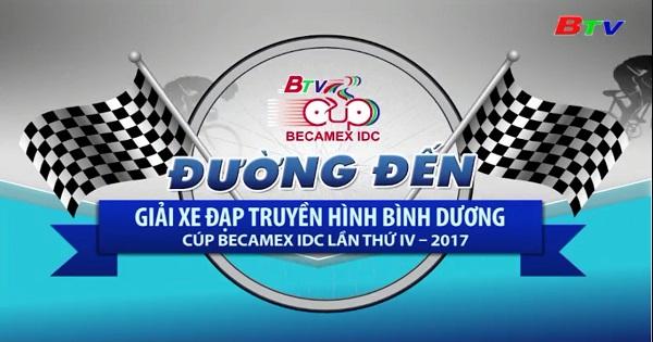 Câu chuyện về chiếc Cúp đồng đội Giải Đua xe đạp THBD Cúp Becamex IDC lần IV/2017