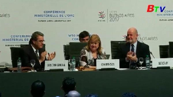 Bế mạc hội nghị bộ trưởng WTO
