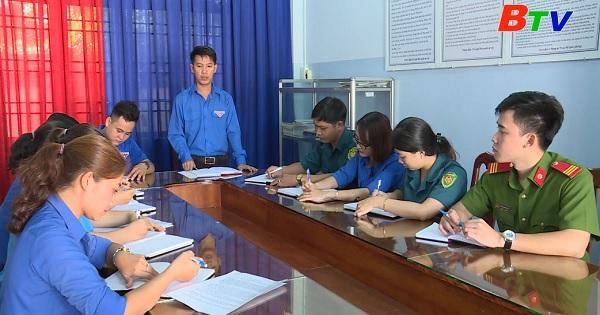 Đoàn thanh niên xã Tân Định điển hình trong việc học tập và làm theo Bác