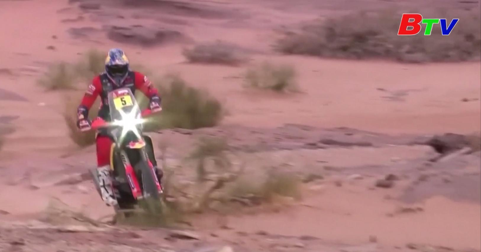 Kết quả chặng 10 Giải đua xe Dakar Rally 2021