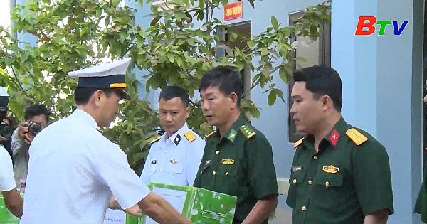 Gặp người Bình Dương tại Bộ Tư lệnh Vùng 5