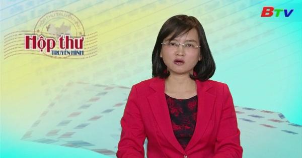 Hộp thư Truyền hình (Chương trình ngày 13/2/2017)