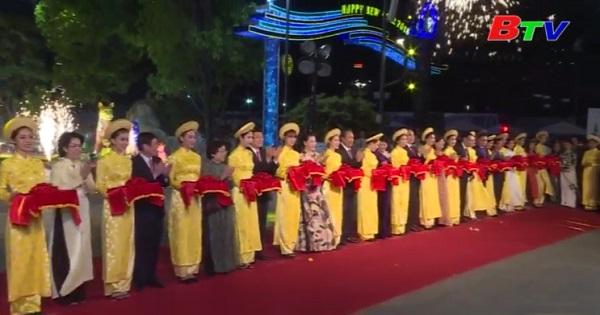 khai mạc đường hoa Nguyễn Huệ